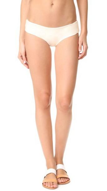 Mikoh Bondi Cheeky Bikini Bottoms - Bone