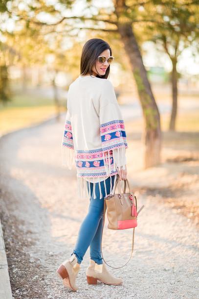 crimenes de la moda blogger jacket sunglasses blouse jewels leggings bag shoes