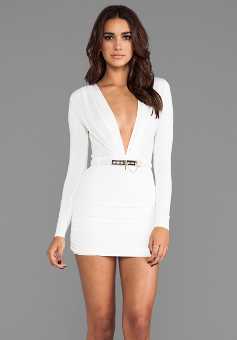 STYLE STALKER REVOLVE Exclusive Valiant Dress in Ivory - Style Stalker