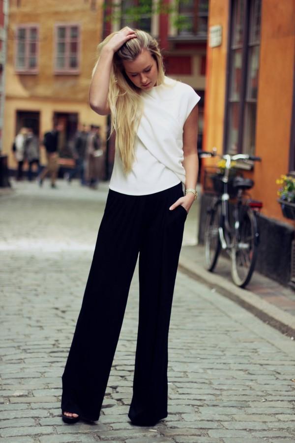 ASOS Tall | ASOS TALL Basic Wide Leg Trouser at ASOS