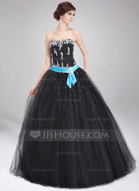 dress black dress quinceanera dress