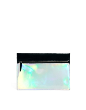 ASOS | ASOS Hologram Clutch Bag at ASOS