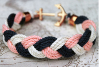anchor gold rope bracelets jewels armband accessories accessory