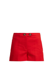 shorts,cotton,red