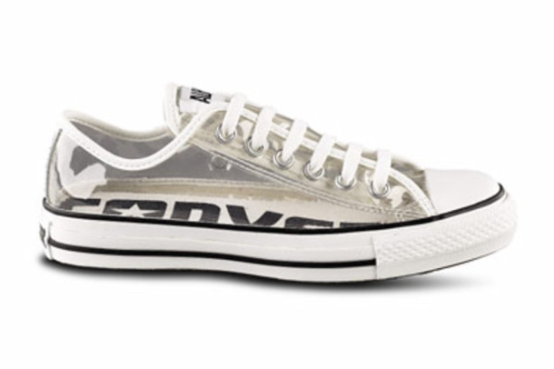89c34d74a18 shoes converse clear white black loveem all star chuck taylor all stars  jellies cool fashion summer