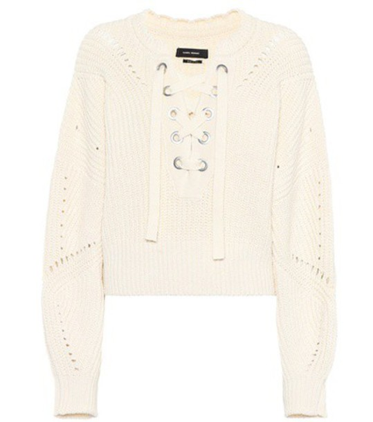 Isabel Marant sweater lace white