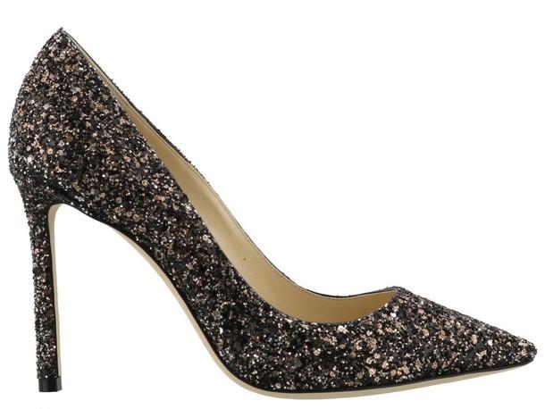 Jimmy Choo bronze shoes