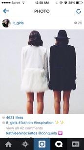 coat,fur coat white black long sleeve,white coat,fur,rain,jacket,wool,soft,hair,fluffy,this,cool
