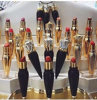 make-up black lipstick luxury red spike red lipstick burgundy lipstick matte lipstick lips nude lipstick lifestyle