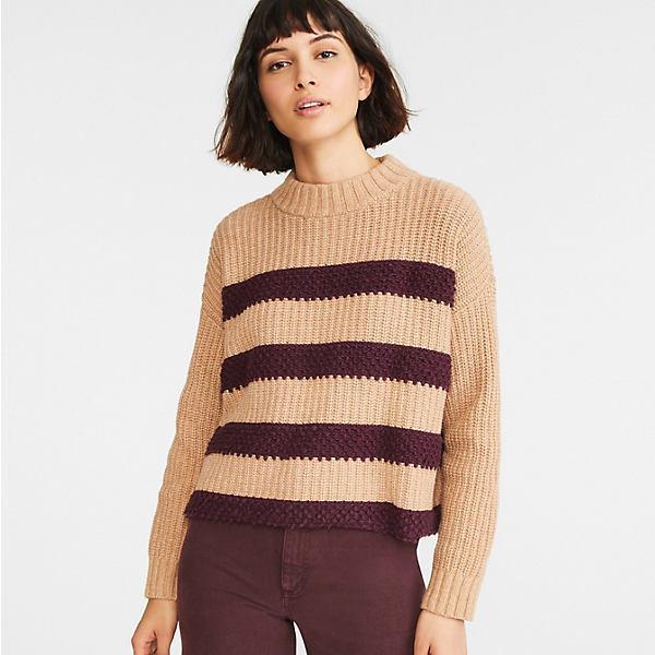 Loopy Striped Sweater