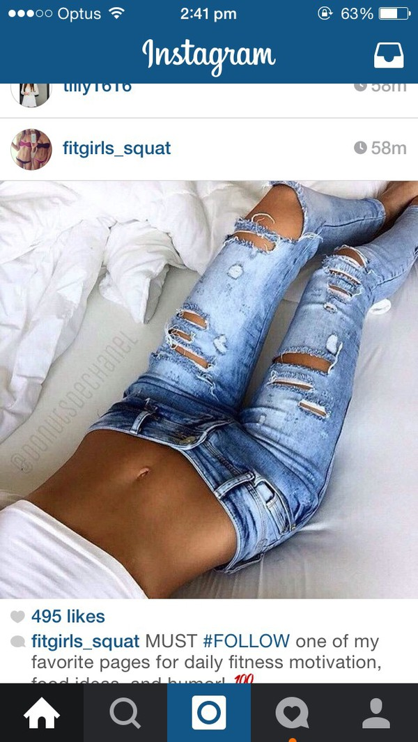 jeans denim jeans rip jeans rip torn fashion cute jeans ripped jeans wash jeans