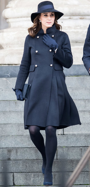 coat kate middleton hat winter coat winter outfits black all black everything