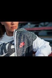 jacket,leopard print,nike jacket