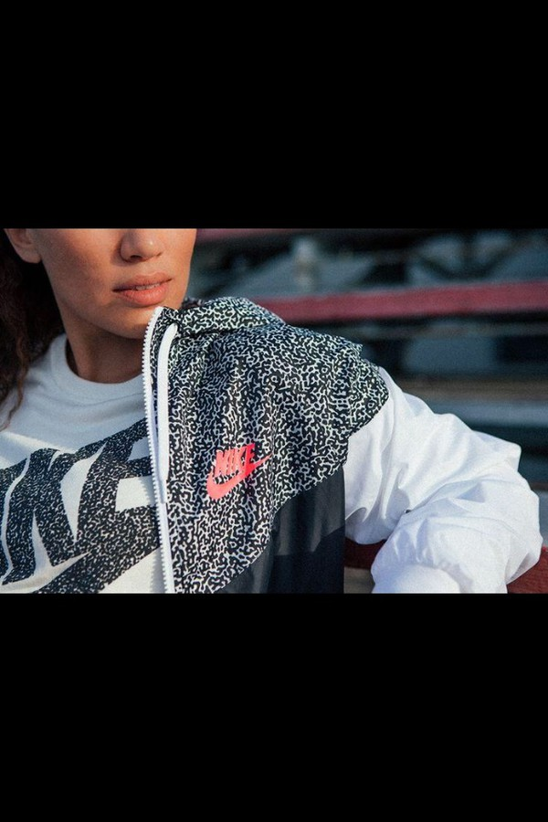 jacket leopard print nike jacket