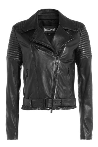 jacket biker jacket leather black
