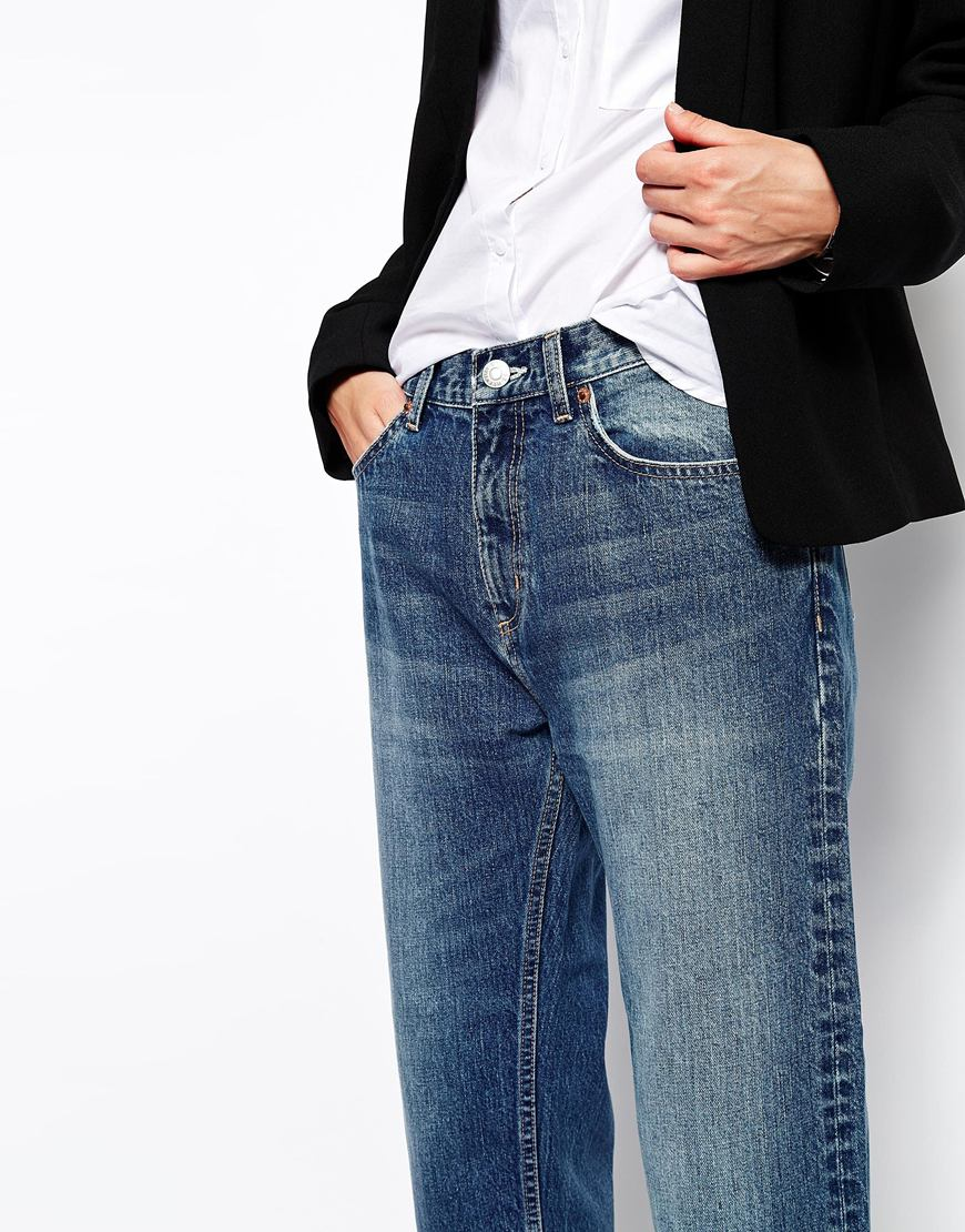 Weekday cropped jeans at asos.com