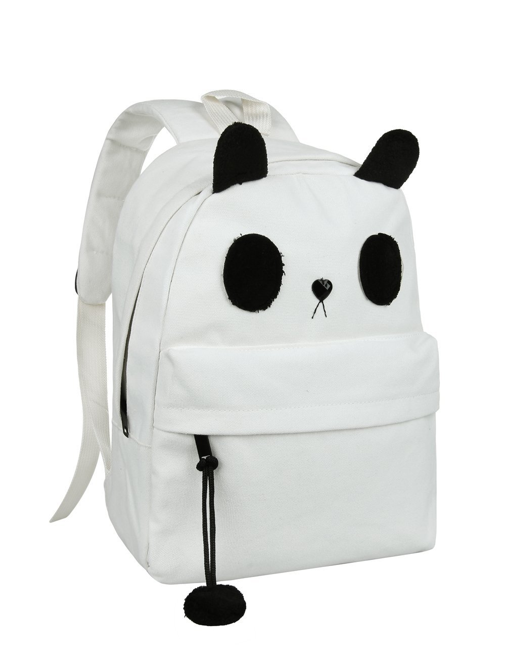 com: Cute Canvas Casual Style Panda Backpack/ Shoulder/ Book Bag ...