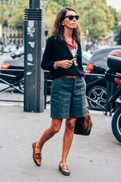 sunglasses,blazer,top,shorts,shoes