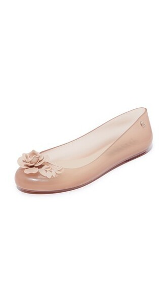 space clear love flats beige shoes