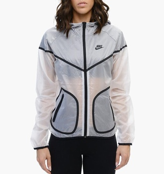 jacket nike transparent rare swag clear black white nike sweater running summer raincoat winter outfits crop tops high waisted shorts windbreaker nike jacket