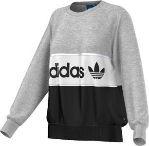 adidas sweater wit