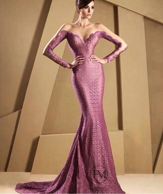 dress pink pink dress gown off the shoulder accessories formal gold ball semi formal girl girly long sleeves offshoulder