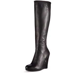 Nadia Knee High Wedge Boot