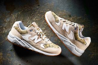 shoes new balance khaki beige camouflage mtr580 cw women sportswear