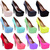 WOMENS LADIES HIGH HEELS PLATFORM POINTED PARTY CLASSIC COURT SHOES PUMPS SIZE | eBay