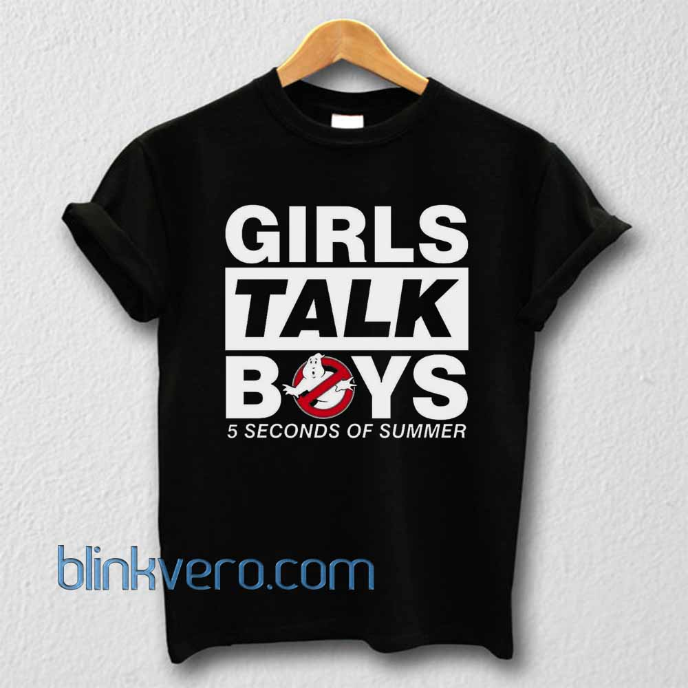5 SOS - Girls Talk Boys Best Unisex T Shirt Adult