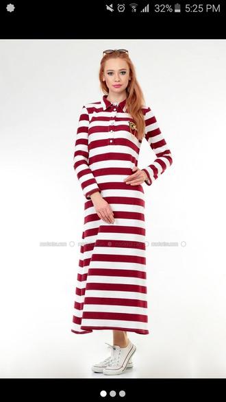 dress maxi long sleeve dress sleeves cotton