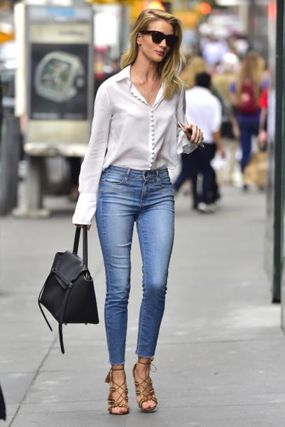 2a51439e2cf4 shoes aquazzura Aquazzura sandals brown sandals lace up heels lace up  sandals denim jeans blue jeans