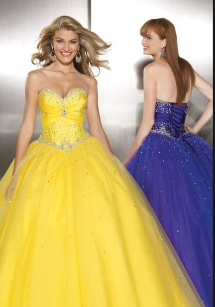 dress quinceanera dress yellow dress corset dress