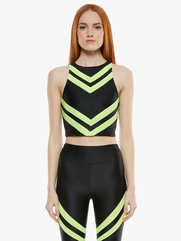 Blackout Energy Crop Top