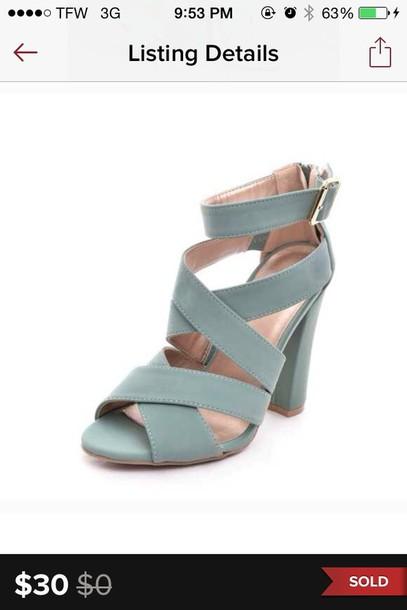 shoes chunky heels