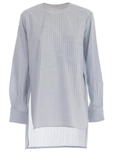 Celine shirt light blue light blue top