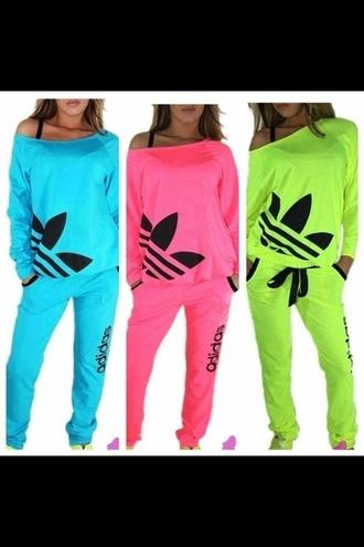 Adidas Tracksuit Clothes Top Pants #1: 70vocl l 330