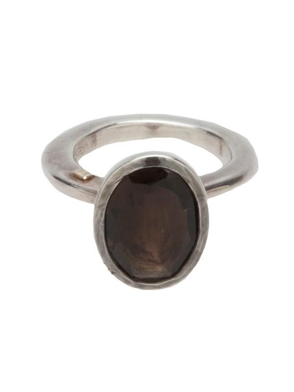 jewels rosa maria ring silver smokey quartz quartz silver ring