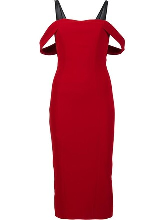 dress women red
