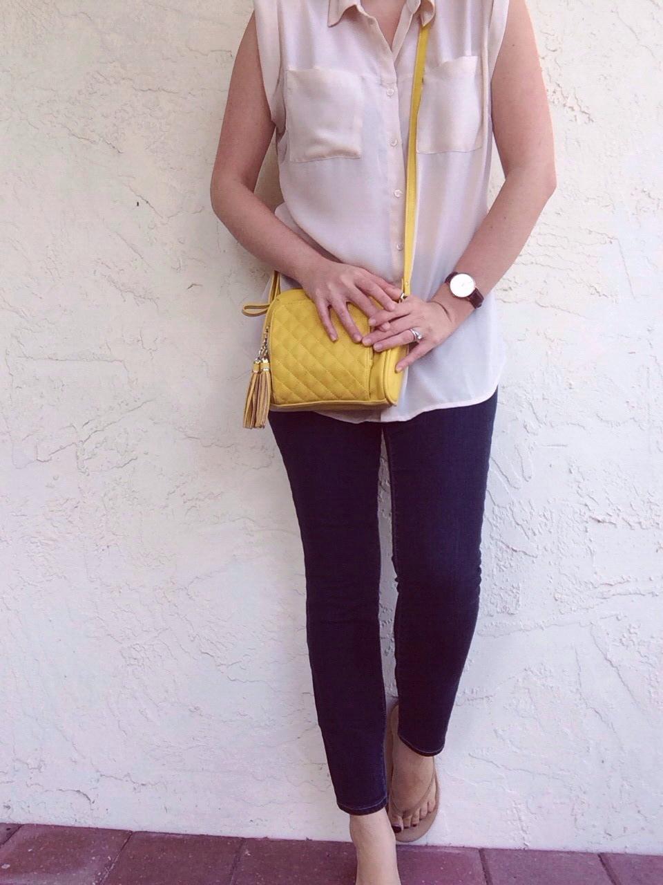 yellow handbag | A Pretty Penny