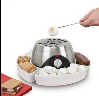 home accessory easy smores chocolate marsmallows cracker kitchen