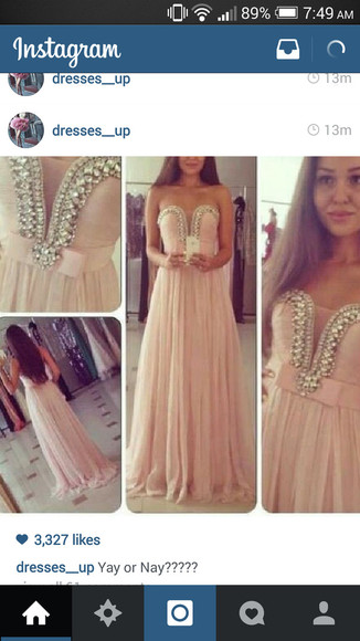 pink dress light pink dress prom dress long prom dress
