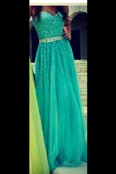 dress teal dress sparkly dress