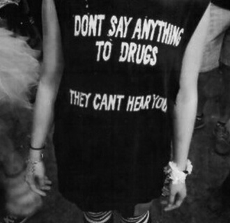 top drugs black tank