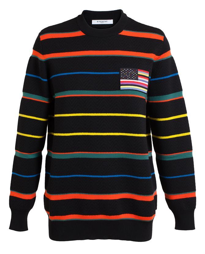 Wool striped jumper