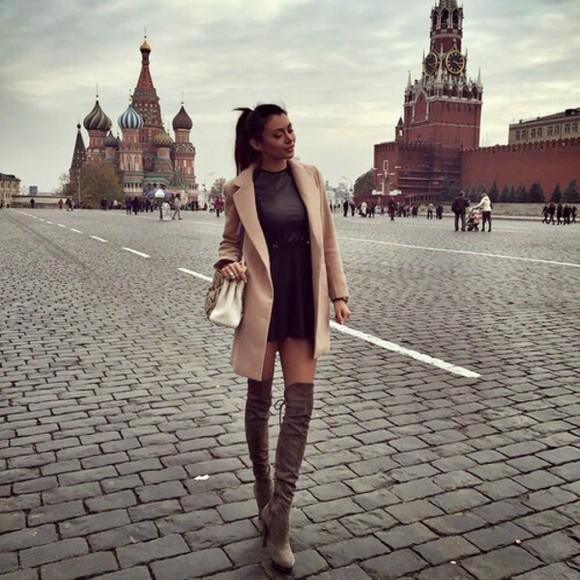 coat brown-ish classy
