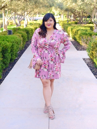 curvy girl chic - plus size fashion and style blog blogger dress jacket shoes