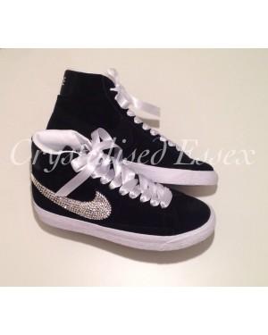 Swarovski Crystal Nike Blazer - Black
