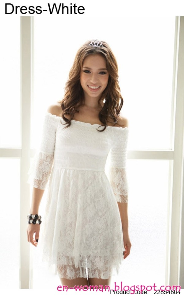 dress white lace dress lace dress any colour but the same dress