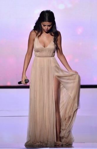 long dress prom selena gomez gown dress